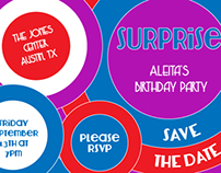 Austin Birthday Invites