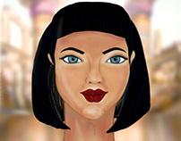 Egyptian Princess- Digital Painting