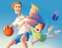 serious basketball )