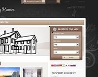 Real Estate / Property Listing Website/Database/CRM