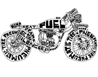 Cafe Racer Typography