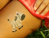 Jungle Theme Designer Temporary Tattoos - Gumtoo