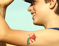 Space Designer Temporary Tattoos - Gumtoo