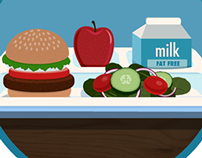 Food Safety Infographics & Illustration