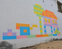 Series of A4 Pixel Art