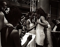 African Fashion Week - London, 2013