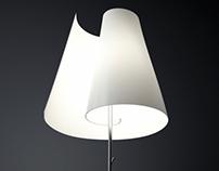Scroll lamp