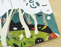 Illustration for magazine cover