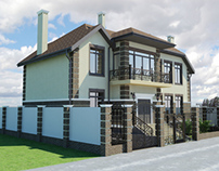 House in Krasnodar number four.