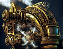 Steam Robot (WIP)