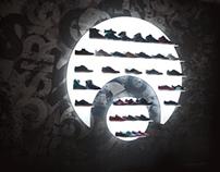 Osiris shoes at Faces&Laces exhibition