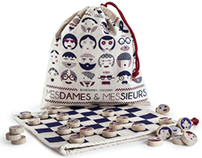 Mesdames & Messieurs : Chekers game
