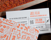 The Lab Business Cards