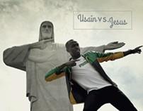 Usain Bolt VS. Jesus
