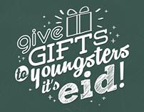 Typography: Ainun Eid Version