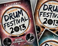 Envato Marketplaces   Drum Festival Flyer Template