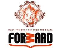 Forward CD | Type & Graphic Design by Kustomtype