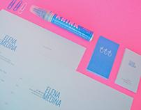 ELENAMEDINA / logo / cards / resume / CV