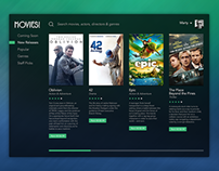 Movie Service UI.