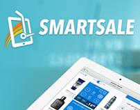 Smartsale Branding. Website and UIX