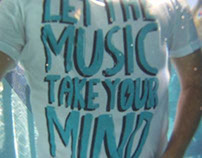 Camiseta LET THE MUSIC TAKE YOUR MIND