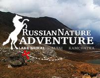 Russian Nature Adventure concept