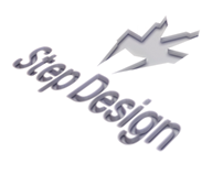 Step Design visual identity