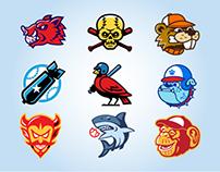 Baseball Boss (MMO) Customizable Team Icons