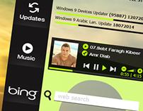 Microsoft® Windows 9 Interface Concept