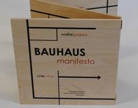 Bauhaus Manifesto