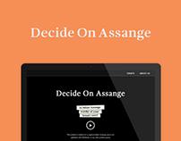 Decide On Assange