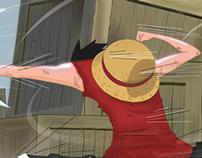 Luffy vs Rutchi