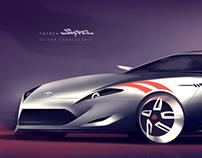 Toyota Supra 2014
