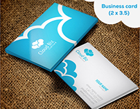 Cloud Logo & Stationery