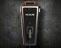 Man Electric Charging Station