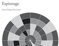 Espionage - multi-player board game design