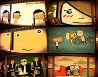 wedding cartoons mix