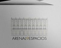 ARENAL9ESPACIOS - Logo and web design