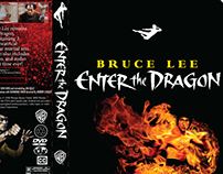 Bruce Lee Enter the Dragon DVD box cover