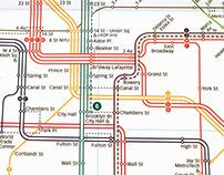 New York City's New Subway Map