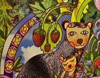 Seattle Children's Bellevue Surgery Portal Murals