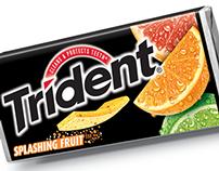 Trident Splashing  | New Product Packaging Design