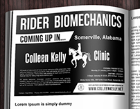 Colleen Kelly advertising design