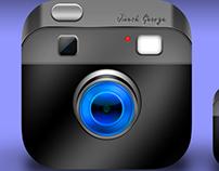 iOS Vintage Camera icon