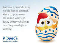 PDMG Marketing Group - Easter Greetings Card