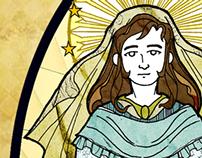 SERIES: Roman Catholic Saints - Character Design 2