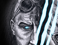 """Riddick Rule The Dark"" Poster Entry"