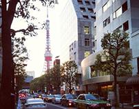 Walking around at Tokyo