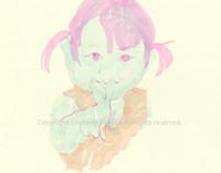 Vivid Colored Child 1