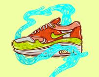 Ilustracion Zapatilla NIKE AIR MAX 90